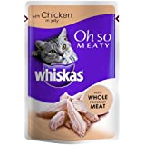Whiskas OhSo Pouch in Jelly with Chicken, Pack of 28