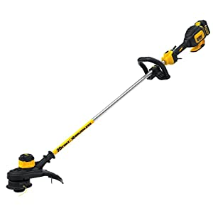 DEWALT DCST920P1 20V MAX 5.0 Ah Lithium Ion XR Brushless String Trimmer