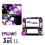 Aweek® Monster Hunter 4G Front & back Decal Paster Skin Sticker for New Nintendo 3DSXL/ New 3DS LL-Sakura 01