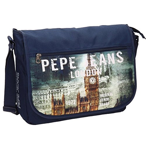 Pepe Jeans 6095051 London Zaino Casual, Litri 11.78, Blu