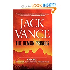 The Demon Princes, Vol. 1: The Star King The Killing Machine The Palace of Love by Jack Vance