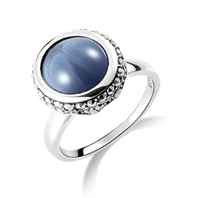 YKQJING Retro silver rings 925 female