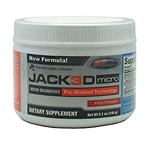 Usp Labs Jack 3D Micro, Fruit Punch, 5.1 Ounce