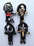 Classic KISS Live! Rock Star Band Mini String Dolls Set