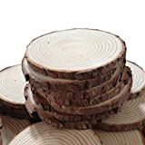 Fonder Mols Unpainted Natural Round Blank Wood Slices ( 1.6