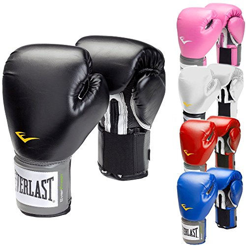 Everlast Boxhandschuhe Pro Style schwarz rot blau weiss pink 8 10 12 14 16 Oz (rot, 8 Oz)