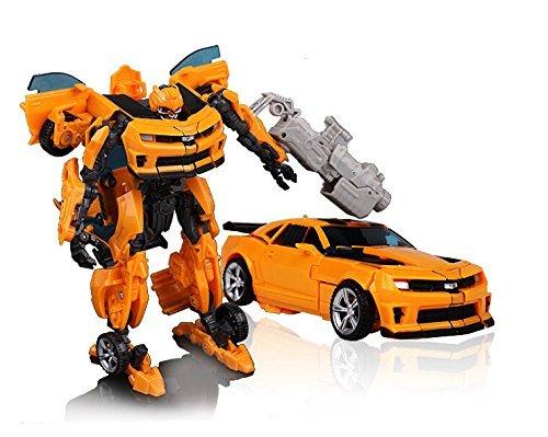 Transformer Bumblebee Toy Car Original Box 27cm Kids Brinquedos Transformation 4 Robot Car Anime Action Figure Trasformers Bumblebee Car Toys for Boys Gift (Anime Robot compare prices)