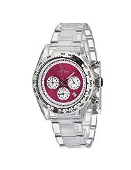 Toy Watch Women's 7002PKP Quartz Chronograph Analog Watch
