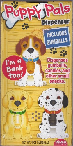 Puppy Pals Gumball Dispenser