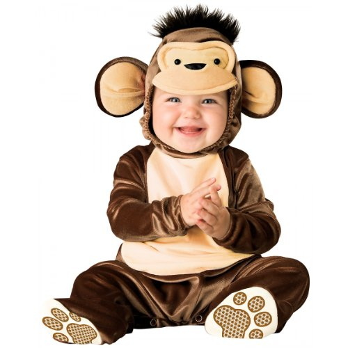Mischievous Monkey Costume - Infant Small