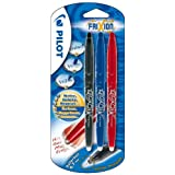 Pilot Frixion Erasable Rollerball Pen Pack of 3 - Assorted Coloursby Pilot