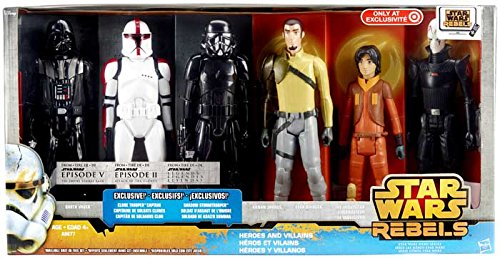 Star Wars Disney Character Figures Disney Star Wars Rebels 6