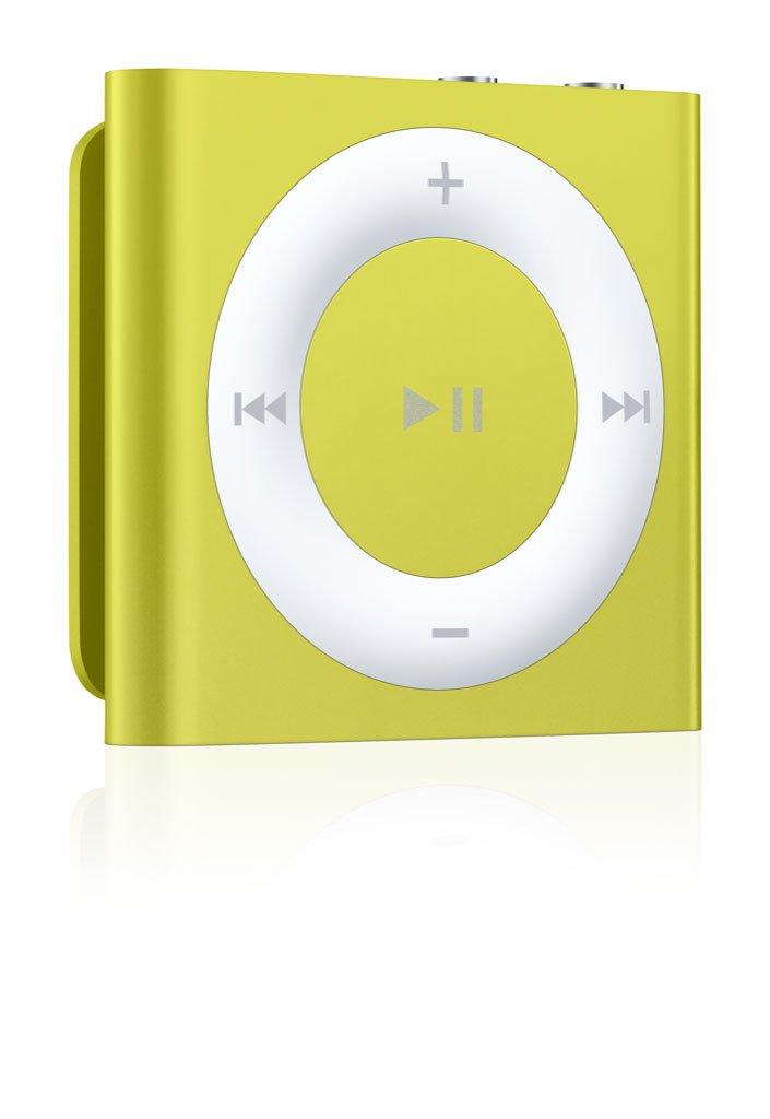 Baladeur MP3 APPLE IPOD SHUFFLE4EG JAUNE 2GO