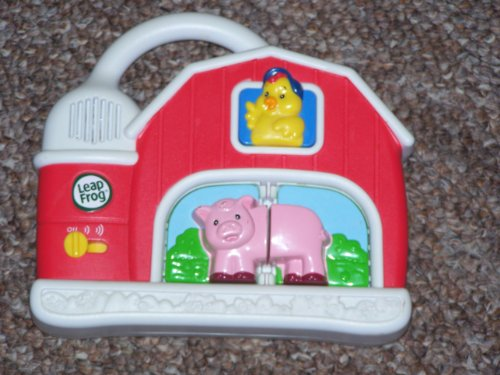Leap Frog Fridge Farm Magnetic Animal Set - (As Pictured, Set Includes: Electronic Farm Barn & Set Of Horse Magnets Only) front-1076572