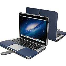 Gmyle Folio Case Cover for 13 inch Macbook Pro with Retina Display - Denim Blue