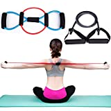 Micrael Home Exercise Resistance Tube Bands - Fitness Resistance Band Chest Expander  Set of 3