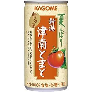 【数量限定】夏しぼり津南トマトジュース190g×30本