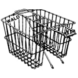 Wald 570 Rear Twin Bicycle Carrier Basket (13.5 x 5 x 10)