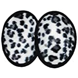 Luxurious Faux Fur Ear Mitts Bandless Ear Muffs 100g ThinsulateTM Insulation & DuPontTM Teflon® (Black/Brown/Leopard/Ocelot) (Regular, Ocelot)