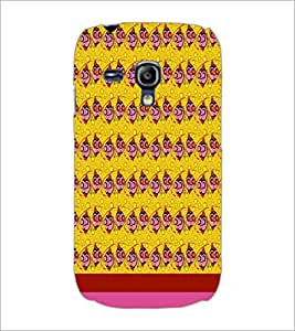 PrintDhaba Fish Pattern D-1846 Back Case Cover for SAMSUNG GALAXY S3 MINI (Multi-Coloured)