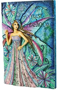 Fairy Site Just Believe Wall Plaque