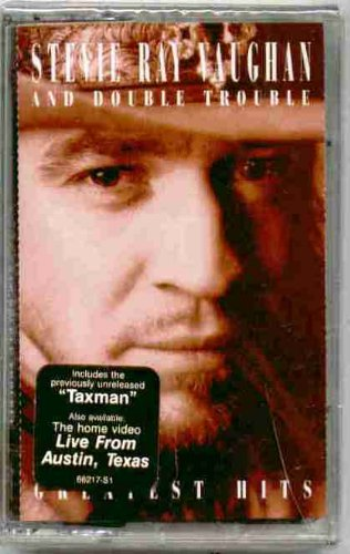 Stevie Ray Vaughan and Double Trouble ~ Greatest Hits (Original 1995 Sony Music 66217 CASSETTE Tape NEW Factory Sealed... by Stevie Ray Vaughan