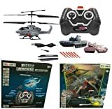 51ZeT2CiIdL. SL160  King Cobra Air Fighter Missile Shooting 3.5 Channel RC Helicopter