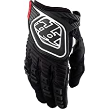 Troy Lee Designs GP Youth Motocross/Off-Road/Dirt Bike Motorcycle Gloves - Black / Large