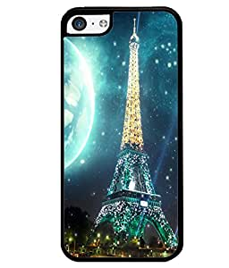 Printvisa 2D Printed Designer back case cover for Apple I Phone 5C - D4510