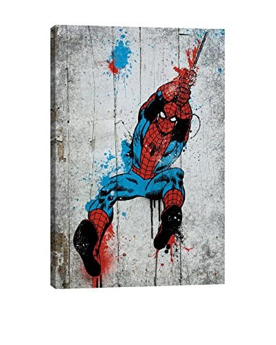 Marvel Comics Gallery  Spider-Man Spray Paint Canvas Print