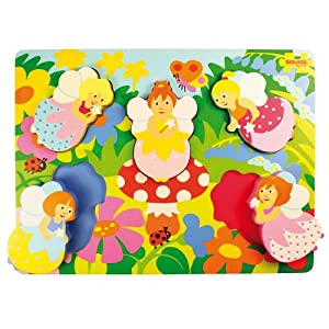 Bigjigs Toys BJ546 Chunky Lift Out Fairy Puzzle