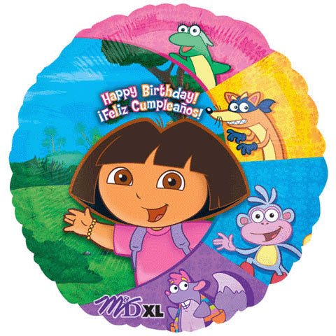 "Dora and Friends 18"" Foil Balloon - 1"