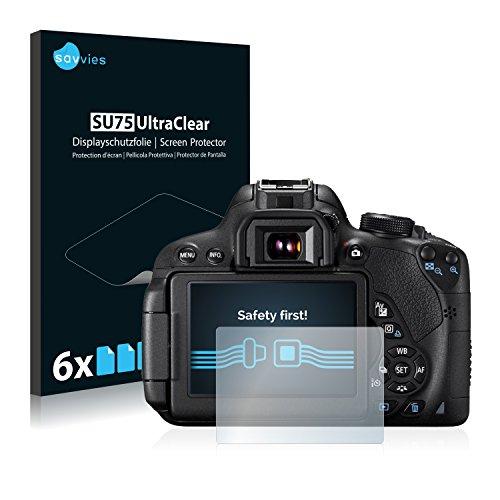 6x-Pellicola-Protettiva-per-Canon-EOS-700D-Protezione-Proteggi-Schermo-Trasparente