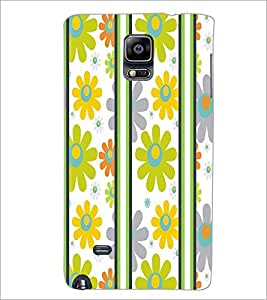 SAMSUNG GALAXY NOTE EDGE FLOWER PATTERN Designer Back Cover Case By PRINTSWAG