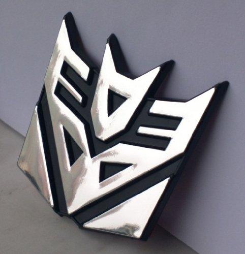 """Transformers Decepticon (3"""") Car Emblem 3D ~ Exterior ..."""