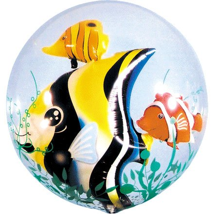 "PIONEER BALLOON COMPANY Seaweed Tropical Fish Pack, 24"", Multicolor"