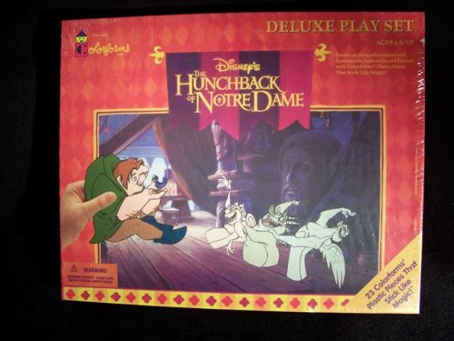 Disney's The Hunchback of Notre Dame Colorforms Deluxe Play Set - 1