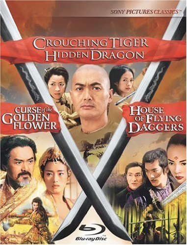 Crouching Tiger Hidden Dragon / Curse of the Golden Flower / House of Flying Daggers Trilogy [Blu-ray] by Sony Pictures