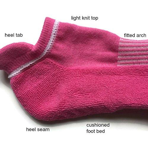 Non-slip barre socks, grippy socks for barre fitness, yoga, pilates (pink)