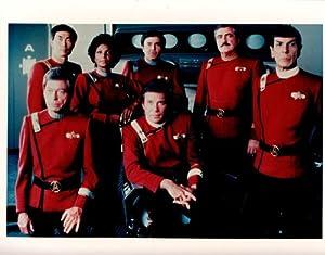 Star Trek Leonard Nimoy William Shatner 8x10 Photo K5266