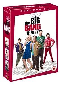 The Big Bang Theory Season 1-3 [DVD]