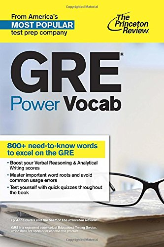 GRE Power Vocab (Princetown Review)