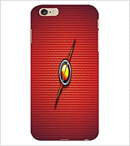 PrintDhaba Fire Ball D-1637 Back Case Cover for APPLE IPHONE 6 (Multi-Coloured)