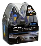 GP Thunder Plasma-White H8, 8500K / 35W Quartz Glass Bulbs (2 bulbs)