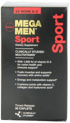 GNC Mega Men Sport Supplement, 90 Count