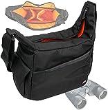 DURAGADGET Rugged 'Country Dweller' Shoulder Sling Carry Bag for Olympus 8x40 DPSI Binocular, Olympus 10x50 DPS 1 Binocular & Olympus 8-16x40 Zoom DPS I Binocular