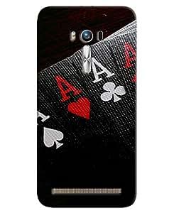 FurnishFantasy 3D Printed Designer Back Case Cover for Asus Zenfone 2 Laser ZE500KL
