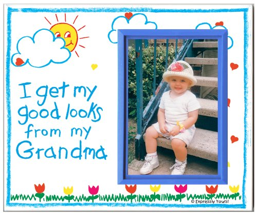 I Get My Good Looks from My Grandma - Picture Frame Gift