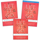 FULL SET - Karen Ehman - Let It Go: How to Stop Running the Show and Start Walking in Faith (Book + Study Guide + DVD) Zondervan 2012