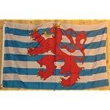 Flagge Fahne ca. 90x150 cm : Luxemburg mit Wappen Löwe